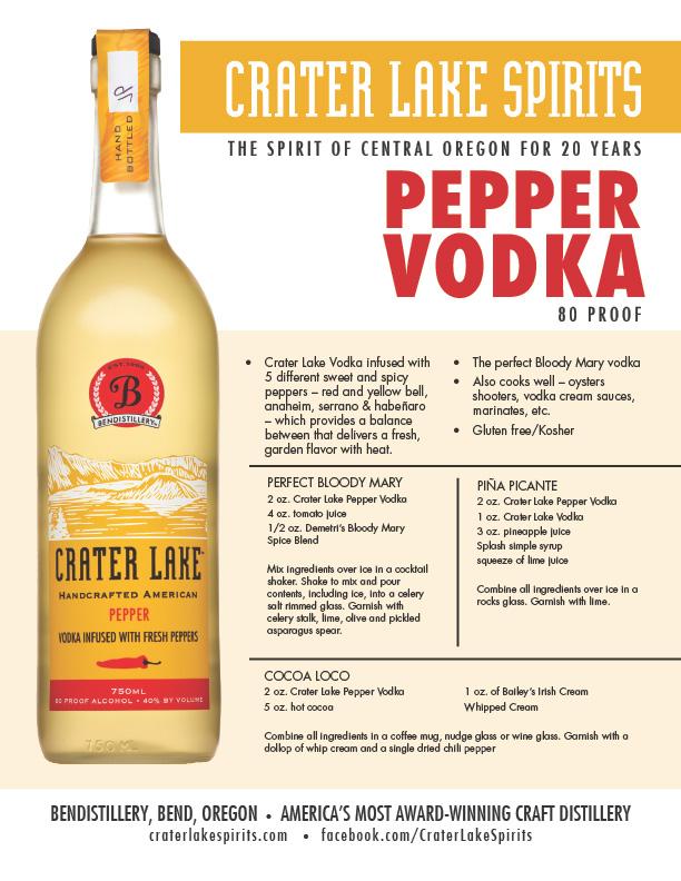 size 40 970b1 8f7d0 Crater Lake Pepper Vodka - Crater Lake Spirits